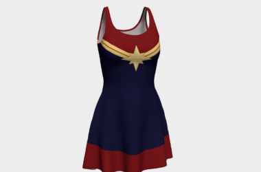 Super Woman Skater Dress