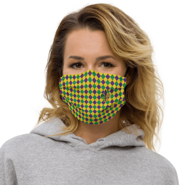 Mardi Gras, or Fat Tuesday Face Mask