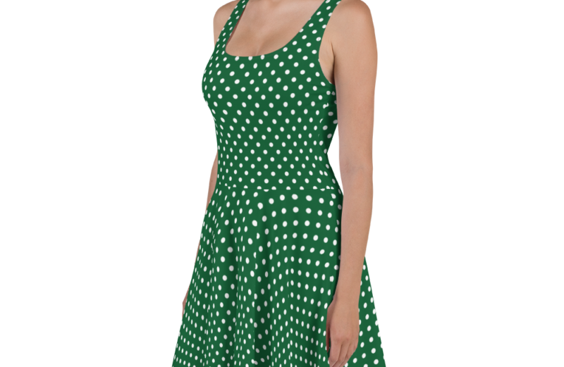 St. Patrick's Day Green Dress